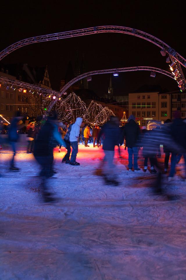 Skaters in Cologne