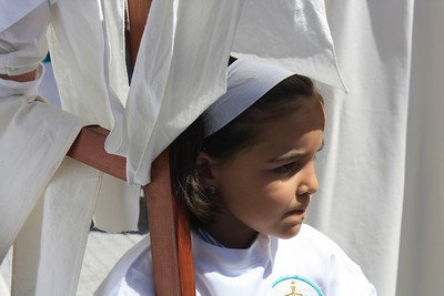 Semana Santa (Easter) festivities in Ayamonte, Spain