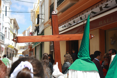 Semana Santa (Easter) festivities in Ayamonte, Spain