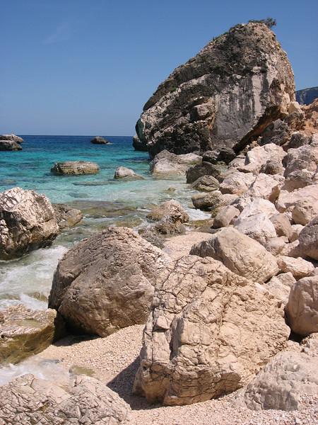 Beaches near Cala Gonone, Sardinia