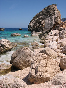 Beaches near Cala Gonone, Sardinia