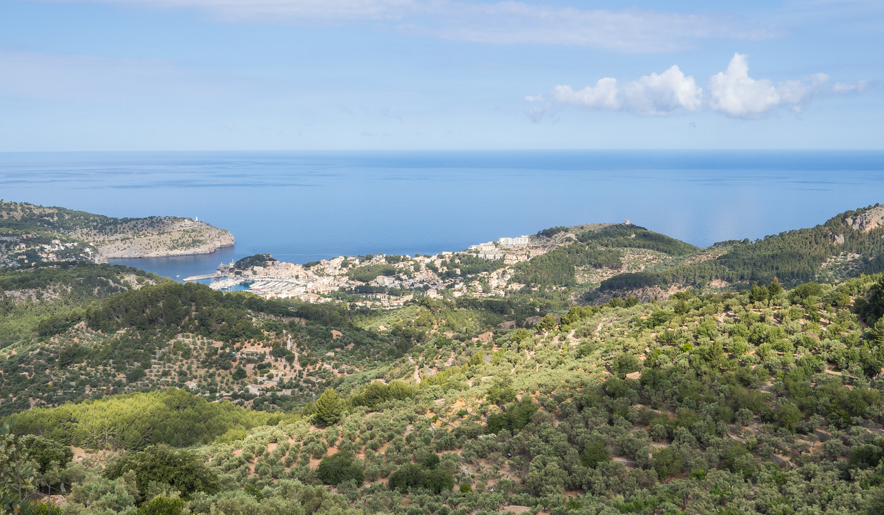 View of Port Sóller