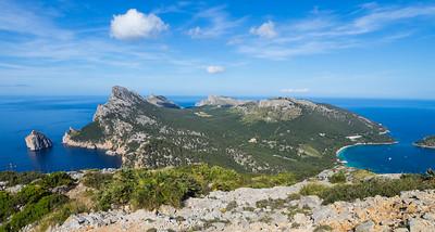 View from Talaia d'Albercutx, Cap de Formentor