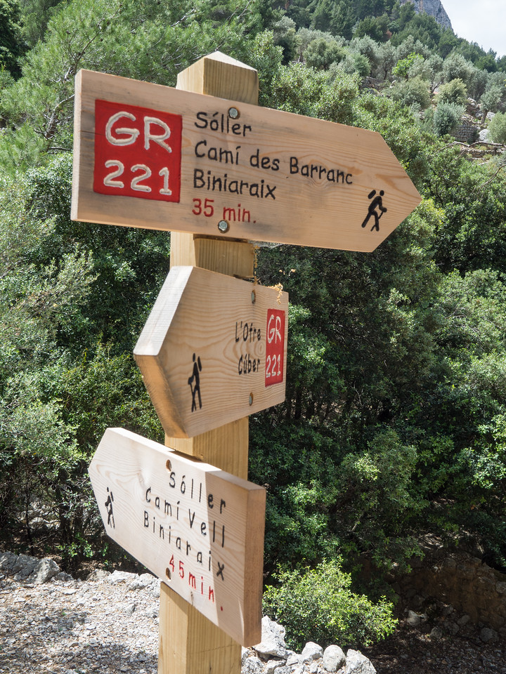 Hike from Binairix (GR221 loop)