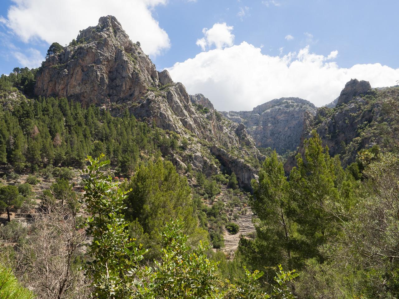 Hike from Binairix (GR221 loop)