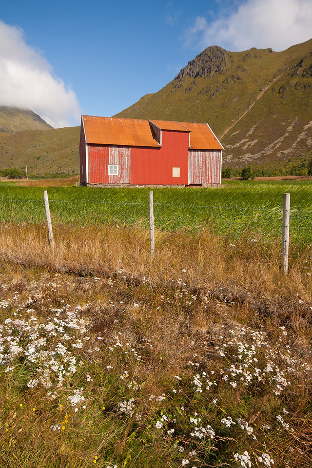 Vestvågøy, Lofoten Islands, Norway