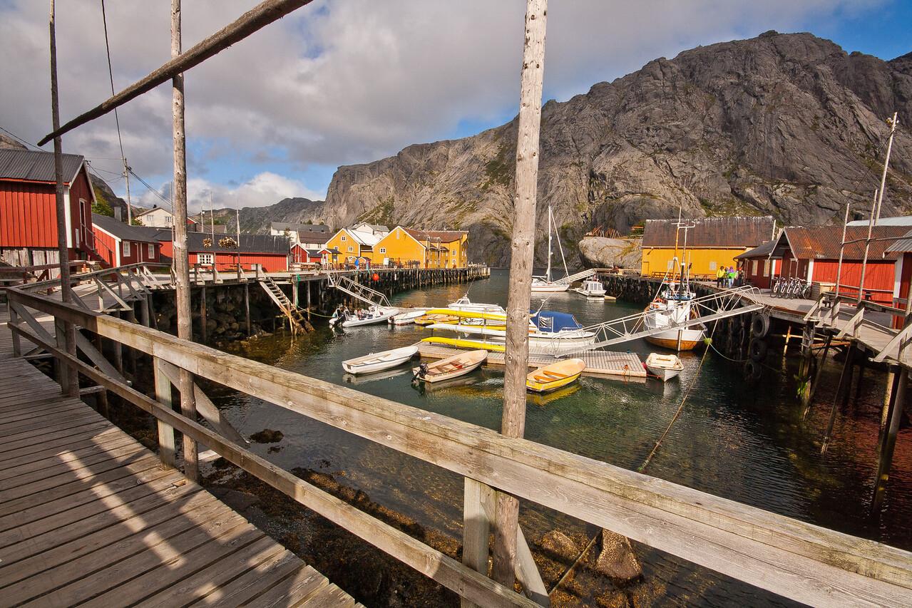 Nusfjord, Lofoten Islands, Norway