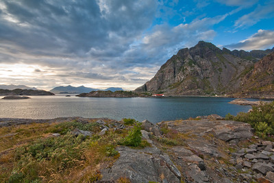 Gimsoya, Lofoten Islands, Norway