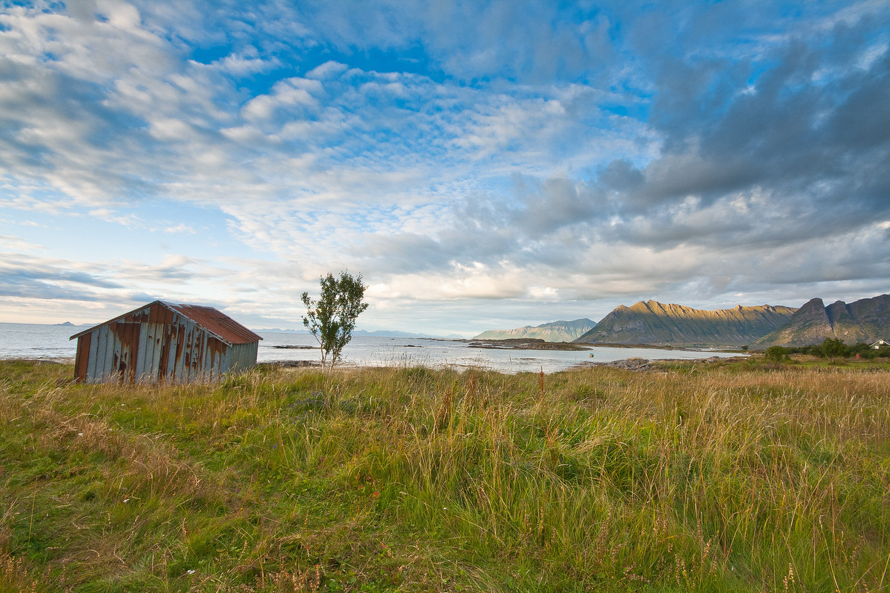 Gimsoya, Lofoten Islands, Norway