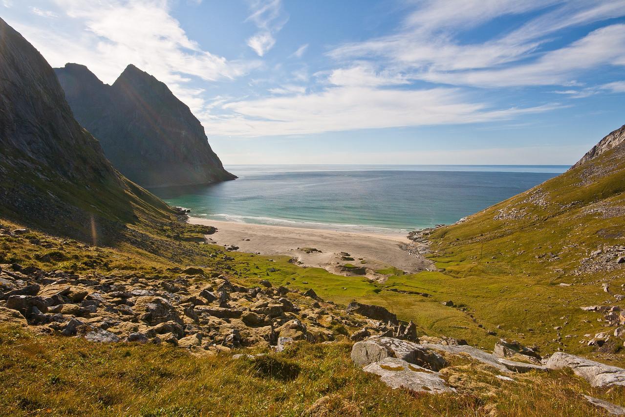 Flakstadøya, Lofoten Islands, Norway