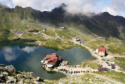Balea Lake, Transfagares Mountains, Romania