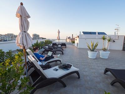 Vieste (hotel roof deck)