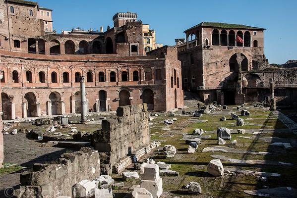 Trajan's markets, early 2nd century AD.