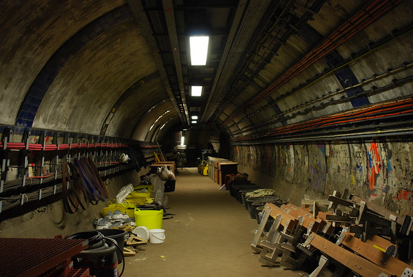 The first tunnels we explore date back to closure in 1967.