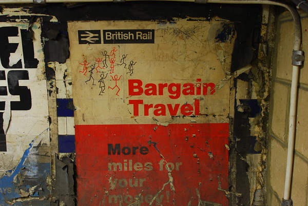 Early British Rail poster
