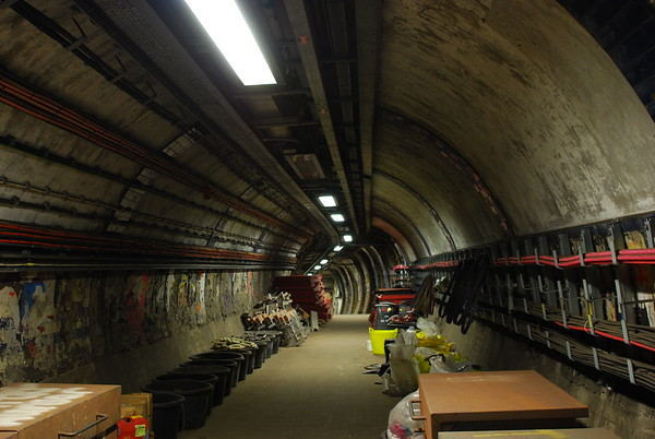 There are as you can see,lots of equipment stored here as work is ongoing in readiness for the new HS2 rail link.