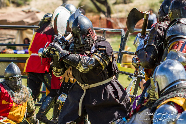 Armored Combat League Nationals Day 2 3-2017