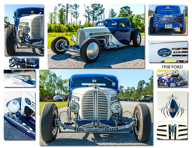 1938 Ford collage 8 x10