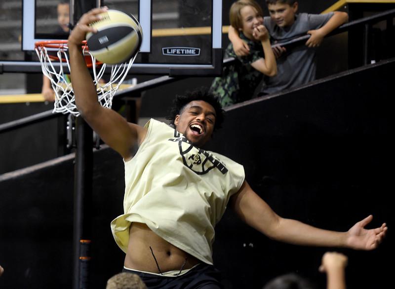 Evan Battey CU Basketball