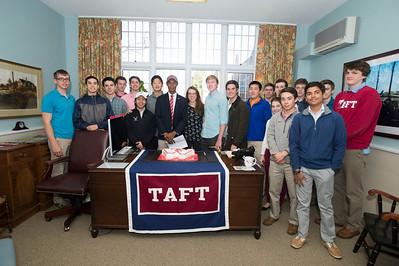 Taft crew captain Evan Miller Signs with Wisconsin