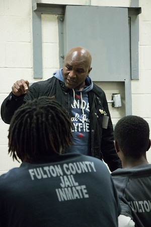 Evander Holyfield shares inspiration at Fulton County Jail