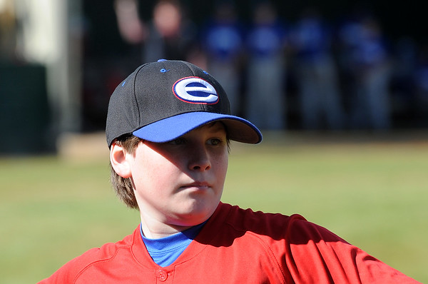 EVANGEL MIDDLE SCHOOL BASEBALL RED vs BLUE 2-15-14