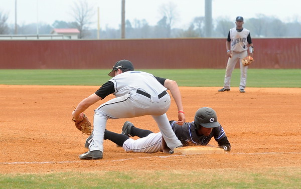 EVANGEL vs ZACHARY 3-22-14