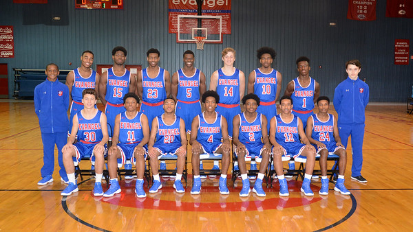 EVANGEL BOYS BASKETBALL  2017-18