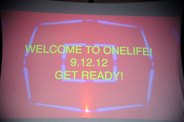 DONNIE MOORE@ONELIFE STUDENT MINISTRIES SERVICE 9-12-12