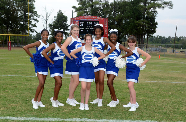 EVANGEL MIDDLE SCHOOL CHEERLEADERS 2013
