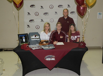 EVANGEL BASEBALL SIGNINGS 11-17-14