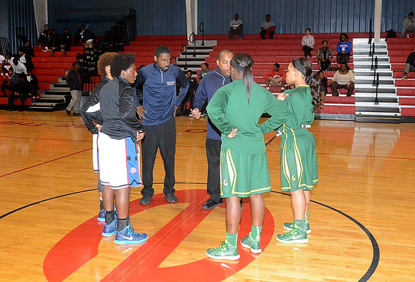 EVANGEL vs GREEN OAKS GIRLS 1-27-15