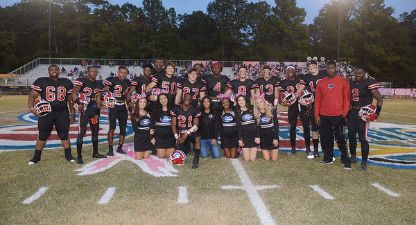 EVANGEL FOOTBALL SENIOR NIGHT 2017