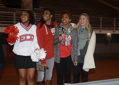 EVANGEL vs JOHN CURTIS FACES IN THE CROWD AND SPIRIT GROUPS  11-21-14