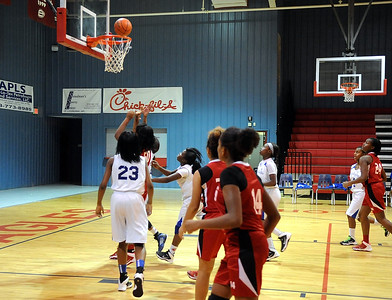 EVANGEL vs EAST NATCHITOCHES  GIRLS 11-6-13