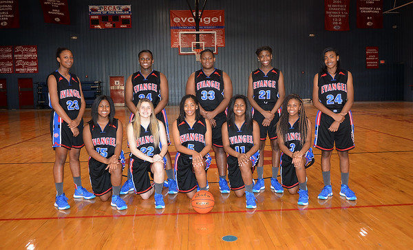 Evangel Girls Basketball 2015