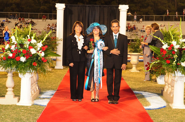 EVANGEL HOMECOMING 2011 QUEEN PRESENTATION 10-14-11