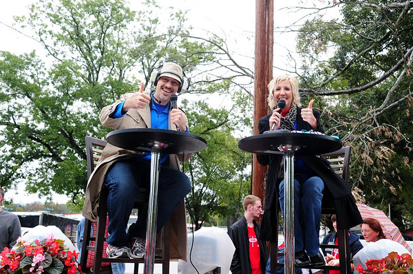 EVANGEL HOMECOMING PARADE and PEP RALLEY