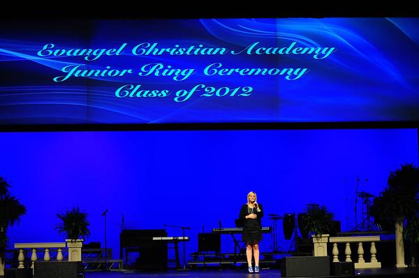 EVANGEL JUNIOR RING CEREMONY CLASS OF 2012 4-17-11