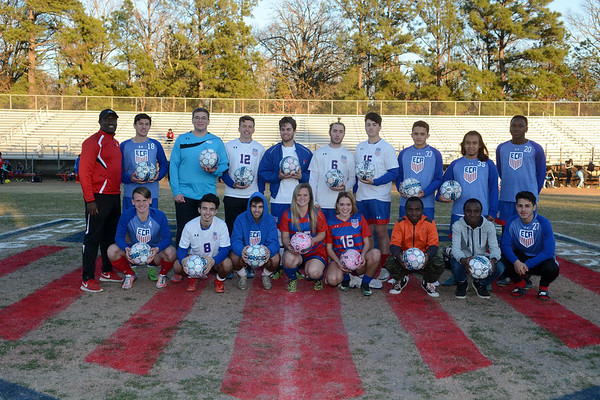 EVANGEL SOCCER SENIOR NIGHT CELEBRATION 2018