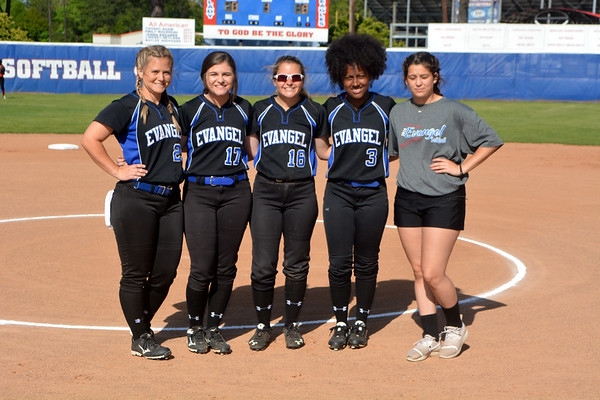 EVANGEL SOFTBALL SENIOR NIGHT 2018