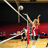 eca vs north caddo<br /> volleyball<br /> 10-27-11<br /> photo by claude price