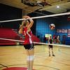 eca vs north caddo<br /> volleyball<br /> 10-27-11<br /> photo by claude price