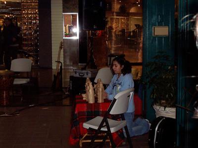 Christmas Caroling at Mall CCRS 2005