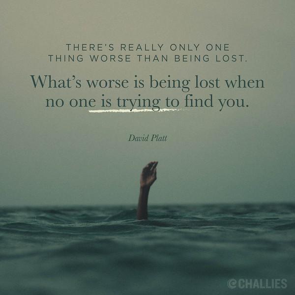 David Platt on Being Lost