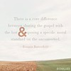Rosaria Butterfield on the Gospel