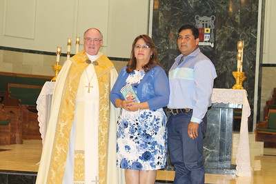 Ricardo and Belinda Gonzales from Sacred Heart in Mathis.