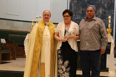 Moises and Graciela Mercado, Our Lady of Good Counsel.