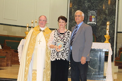 Deacon Eluterio and Rose Farias from St. Peter, Prince of the Apostles.