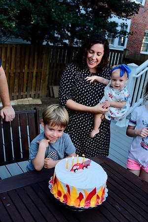 Evan's 4th Birthday Party